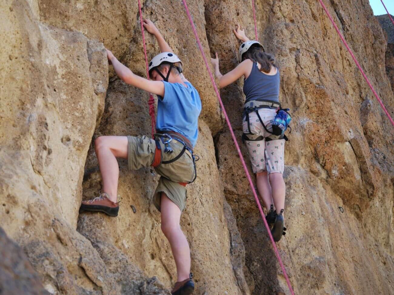 Klettern in Kirn
