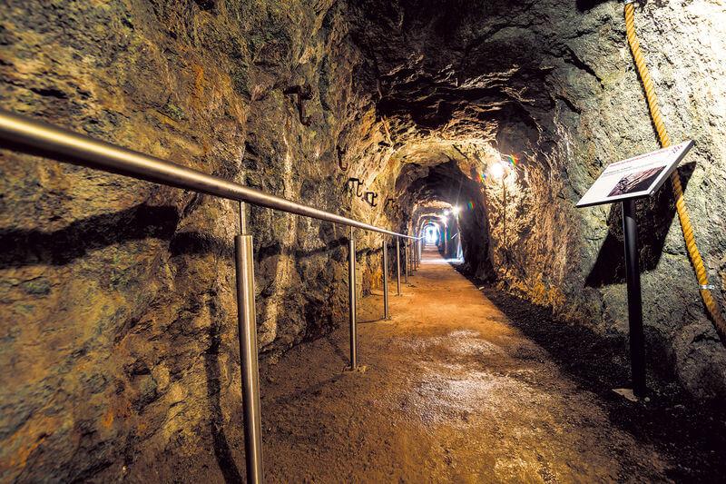 Kupfermine in Fischbach