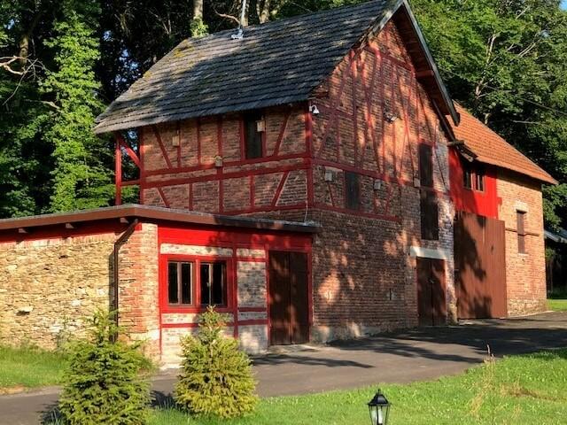 oorspronkelijke schuur   groot-vakantiehuis Waldfriede